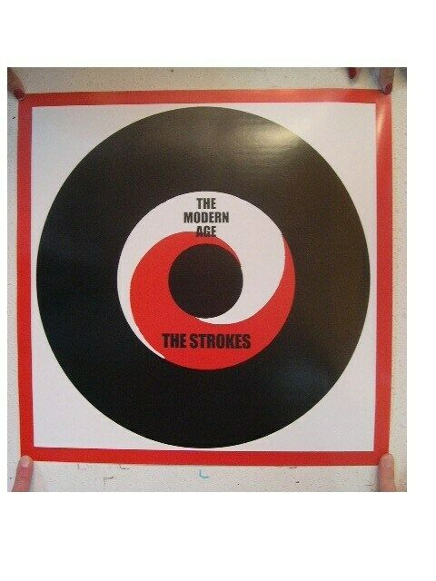 Strokes poster The Modern Age