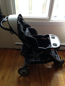 USED BABY TREND SKYVIEW STROLLER for up to 50 lbs