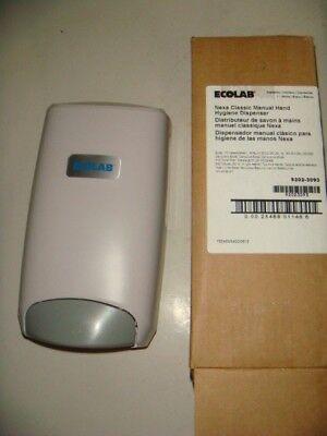 Ecolab Nexa Classic Manual Hand Hygiene Dispenser Nib