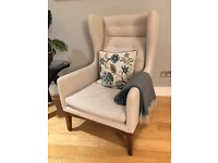 2 James Harrison Wing Chairs