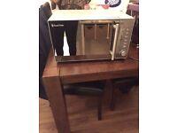 Russell Hobbs Silver Microwave £50