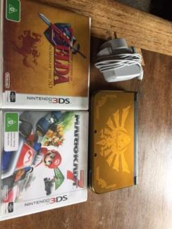 Nintendo 3DS XL Gold Hyrule Edition Leederville Vincent Area Preview