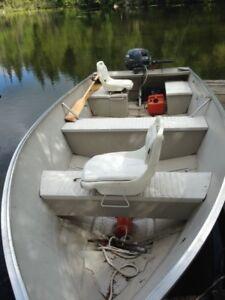 Princecraft 16 F Alum Fishing  Boat & Motor Combo