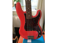 Fiesta Red - Fender Squire 'Vintage Modified' Precision Bass