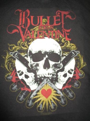 2007 BULLET FOR MY VALENTINE Skeletons with Guns Concert Tour (MED) T-Shirt