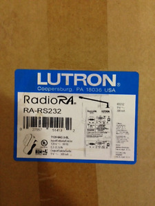 Lutron RA-RS232 serial communication interface Radio RA