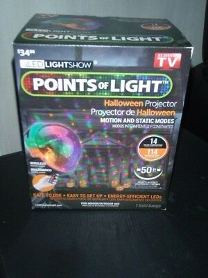 Gemmy Light Show Points of Light Halloween Projector with Wireless Remote NEW (Gemmy Light Show Halloween)