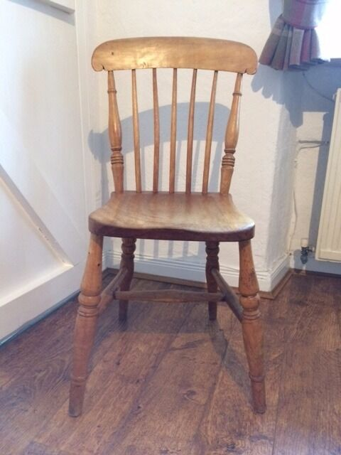 Shabby Chic Vintage Pine Country Chair