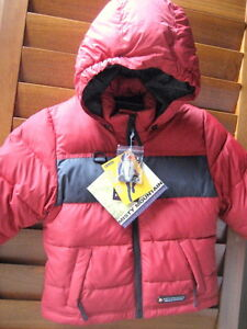Brand new down outerwear from Misty Mountain for 2T