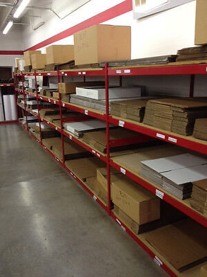8x6x4 Corrugated Kraft Shipping Packing Moving Boxes - 50 Quantity