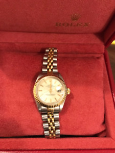 Rolex Datejust Ladies 18K gold and stainless steel