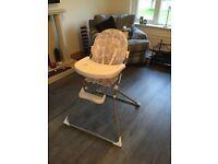 High Chair Light Grey