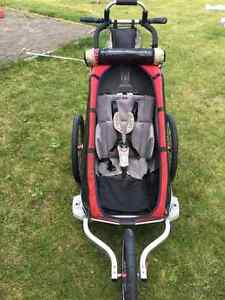 chariot cx1 stroller with bike attachement and baby sling
