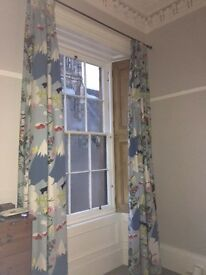 Curtains In Very Good Condition 180cm wide x 300cm drop