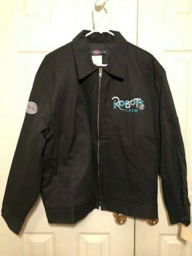 NWT - AUTHENTIC OFFICIAL _ ROBOTS MOVIE ANIMATION FILM CREW JACKET
