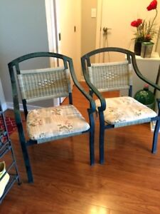 Cast Iron patio chairs