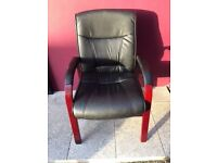 Leather conference chair in great condition