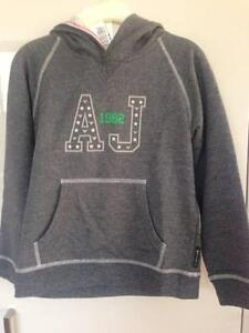 Armani Grey Hoody Age 6 - BNWT Brighton Bayside Area Preview
