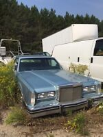 FREE 81' Lincoln Towncar for DISPOSING of Wood/Metal Shed