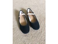 Ballet character shoes size 1