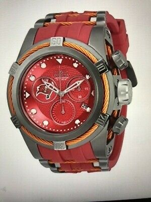 Invicta NFL Tampa Bay Buccaneers  53mm Bolt Zeus LTD ED Watch.