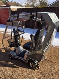 Quingo Vitess Mobility Scooter in excellent, like new condition