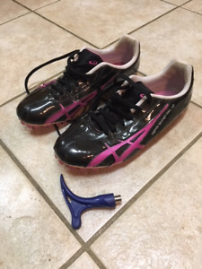 Girls Track and Field ASICS Hyper Rocket SP Sprint shoes