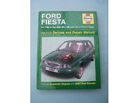 Ford Fiesta (1995-2002) Haynes Service & Repair Manual Book 3397