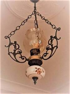 """Porceline """"Antique"""" Ceiling 12 Candle Pendant Light Fitting Manly Manly Area Preview"""