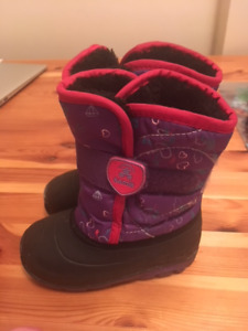Toddler Girl's Winter Boots- Size 8