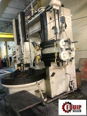 King 72in Vertical Boring Mill Turret Lathe Milling Machine Free Loading