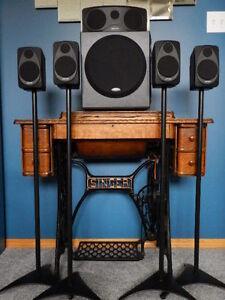 5.1 Polk Audio Surround Sound System