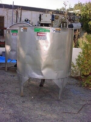 500 Gallon Stainless Steel Tank With Sweep Mixer