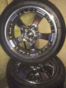 4x20inch Eagle Alloy Rims with mounted Falken 452 255/45/20