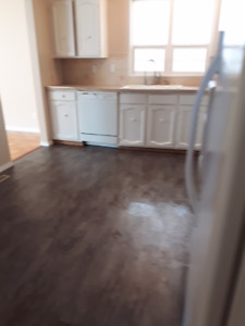 main floor, utility included with  single garage