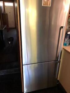 2 Door bottom mount fridge