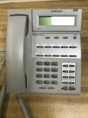 Samsung Idcs 18d Digital Business Landline Telephone Includes Stand