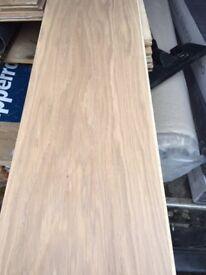 Rovers engineered oak wood flooring, white wash effect