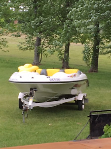 Speedster Jet Boat and Trailer 1996