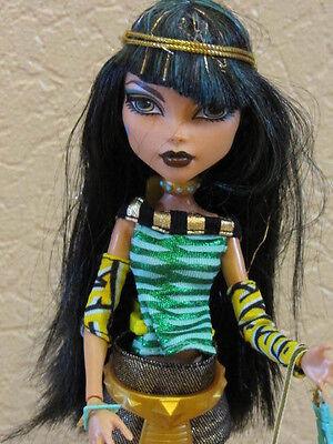 Monster High Cleo de Nile X4630 school´s out Sammlerstück gebraucht kaufen  Unna
