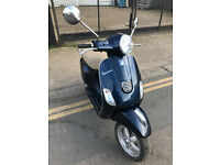 2013 Piaggio Vespa 3V LX 125 lx125 in Blue great condition