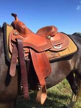Make an OFFER! Jeff Smith Reining Saddle Western Saddle Biloela Banana Area Preview