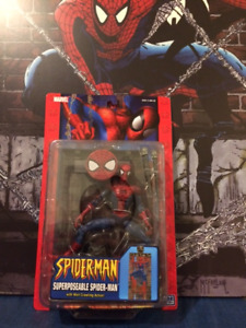 McFARLANE STYLE SPIDER-MAN FIGURE BY TOY BIZ IN 2004 ULTRA RARE