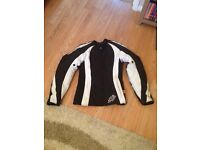 Ladies motorbike jacket, trousers and boots