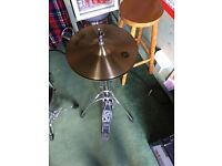 Hi hat and Stagg Cymbles