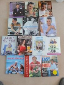 13 Cookery Books for £3