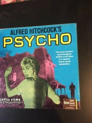 Super 8mm Film  Psycho by Alfred Hitchcock