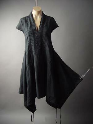 Black Forest Mori Girl Dark Boho Pagan Wiccan Victorian Goth 177 mv Dress S M L