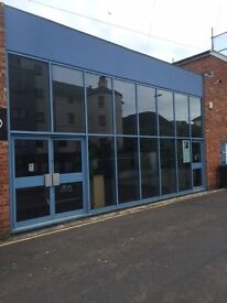 Town centre commercial property, ideal for Workshop/Distribution centre and storage