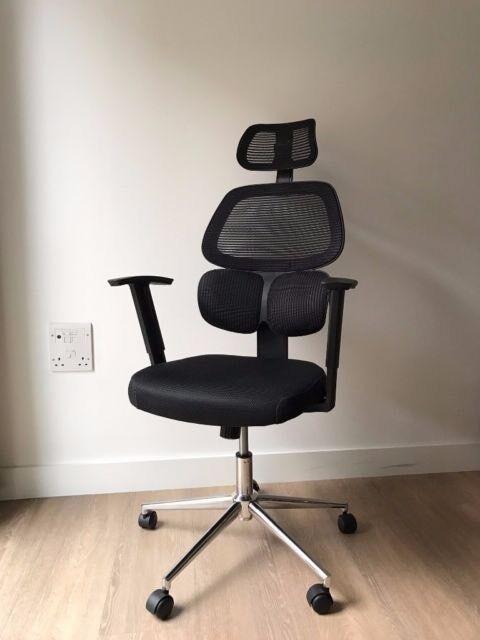 Ergonomic High Back Mesh Office Chair | Adjustable | Black
